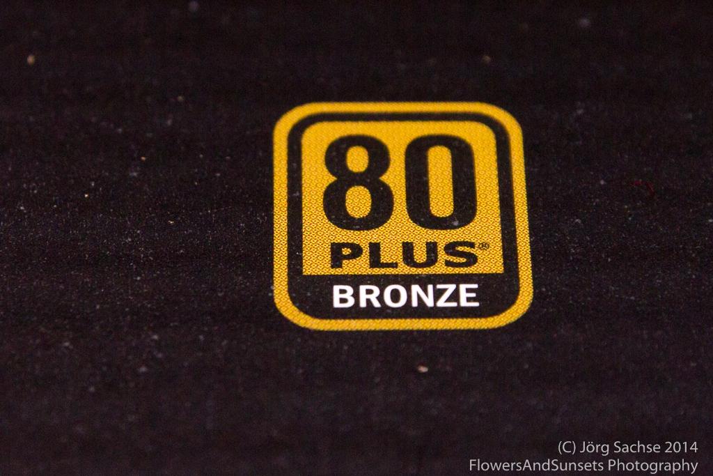 80+ Bronze zertifiziert
