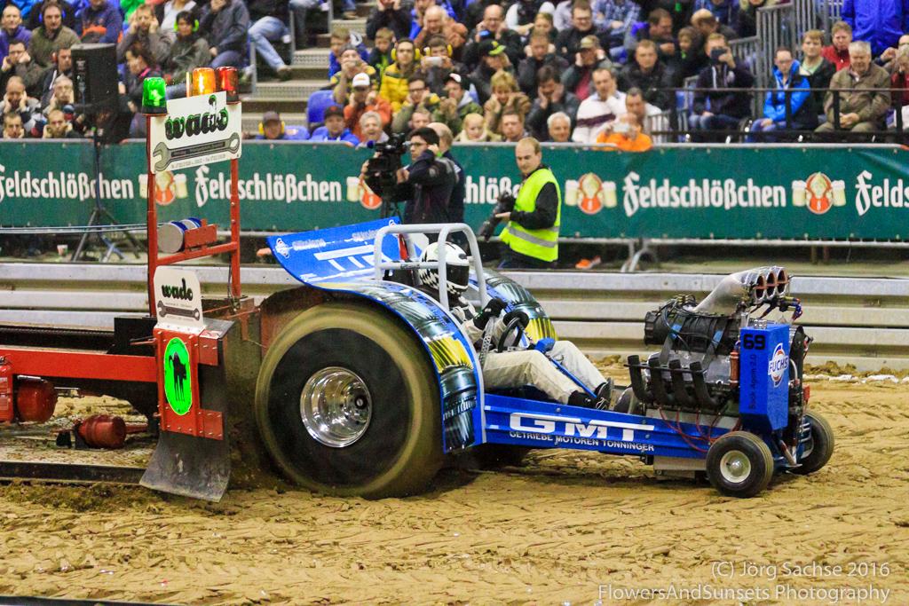 Deutsche Meisterschaft im Tractorpulling Riesa